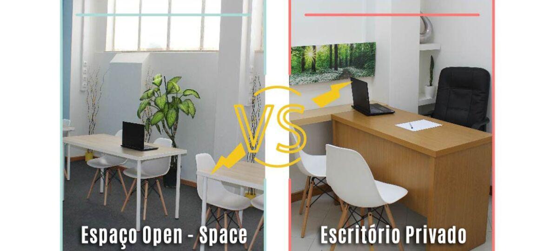Escritório Privado ou Espaço Open-space? Qual o melhor?