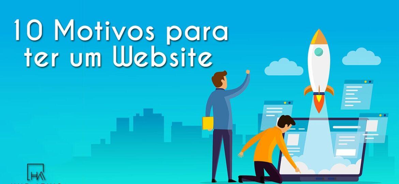 10 motivos para ter um Website